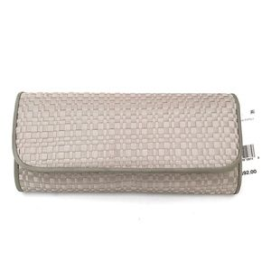 New Adrianna Papell Susi Woven Small Envelope Clut